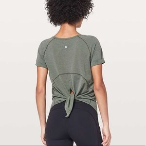 Lululemon Open Up Tie Back T-shirt 🌟